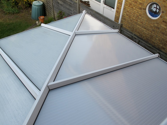 Conservatory roof - clean